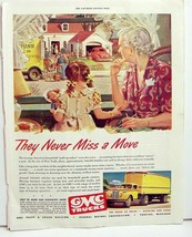 GMC Trucks ad They never miss a move 1946 - $9.99