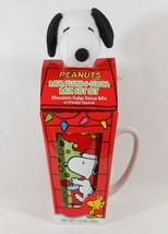 Peanuts Christmas Mug, Plush Snoopy & Cocoa Mix Gift Set - $14.99