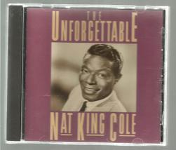 NAT  KING  COLE  * UNFORGETTABLE *  C D ~ CAPITOL 1992 - $2.99