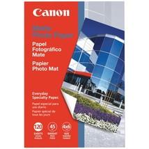 "Canon Matte Photo Paper (4"" X 6""; 120 Pk) - $11.16"