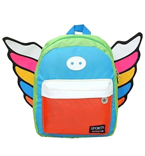 Korean Fashion Infant Knapsack Toddle Backpack Kindergarten School Bag Orange