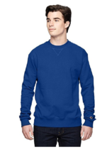 New Mens Champion Heavy Weight  Max Crew Neck Sweatshirt 3X Royal Blue - $12.19