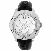 Tag Heuer Men's CAF101B.FT8011 Aquaracer Chronograph Black Rubber Watch - $2,015.75