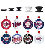 Pop up Phone Holder Expanding Stand Finger Grip Mount Minnesota Twins - $11.99
