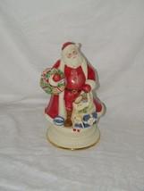 LENOX SANTA'S AROUND THE WORLD  MUSIC BOX 1st in series Santa 18591 Santas - $43.14