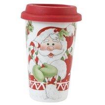Candy Cane Santa Travel Mug - $24.74