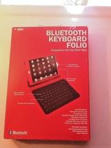 Vibe E-ssential Bluetooth Keyboard Folio Compatible w/ iPad Mini VE-1089... - $11.99