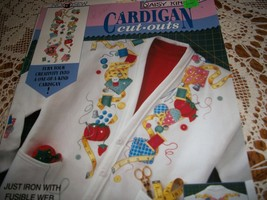 Daisy Kingdom Cardigan Cut Outs: Sew Easy - $5.00