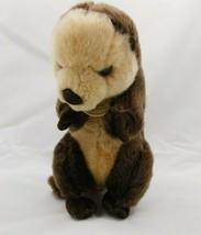 """Miyoni Aurora World 10"""" Standing Sea Otter Plush Stuffed Animal  - $12.74"""