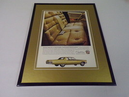 1968 Cadillac Sedan DeVille 11x14 Framed ORIGINAL Vintage Advertisement - $41.71