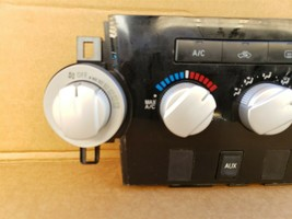 07-13 Toyota Tundra Air AC Heater Climate Control Blower Switch Panel Dash w/AUX image 2