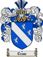 Primary image for Crase Family Crest / Coat of Arms JPG or PDF Image Download