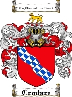 Crodare Family Crest / Coat of Arms JPG or PDF Image Download