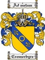 Primary image for Cromerbyre Family Crest / Coat of Arms JPG or PDF Image Download