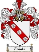 Crooke Family Crest / Coat of Arms JPG or PDF Image Download - $6.99