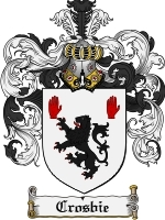 Crosbie Family Crest / Coat of Arms JPG or PDF Image Download