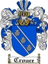 Crouce Family Crest / Coat of Arms JPG or PDF Image Download - $6.99