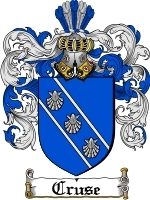 Cruse coat of arms download