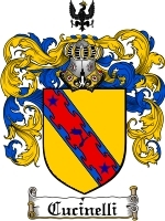 Primary image for Cucinelli Family Crest / Coat of Arms JPG or PDF Image Download
