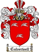 Primary image for Culverwell Family Crest / Coat of Arms JPG or PDF Image Download