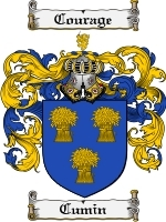 Primary image for Cumin Family Crest / Coat of Arms JPG or PDF Image Download