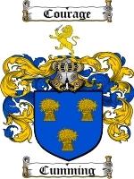 Cumming coat of arms download