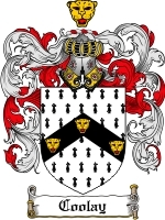 Primary image for Curier Family Crest / Coat of Arms JPG or PDF Image Download