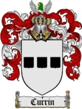 Currin Family Crest / Coat of Arms JPG or PDF I... - $6.99