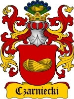 Primary image for Czarniecki Family Crest / Coat of Arms JPG or PDF Image Download