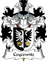 Primary image for Czyczwitz Family Crest / Coat of Arms JPG or PDF Image Download