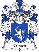 Primary image for Czirson Family Crest / Coat of Arms JPG or PDF Image Download