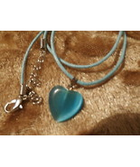 PEARLESQUE HEART  NECKLACE   YOUR CHOICE - $7.00
