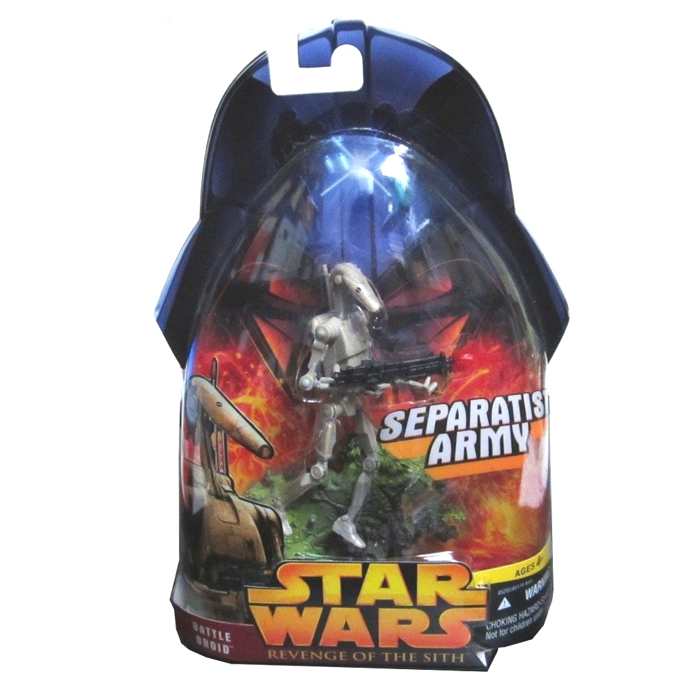 2005 hasbro star wars revenge sith battle droid a