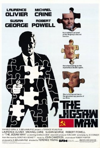Jigsaw Man Poster 27x40 Michael Caine Laurence Olivier Susan George