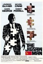 Jigsaw Man Poster 27x40 Michael Caine Laurence Olivier Susan George - $14.85