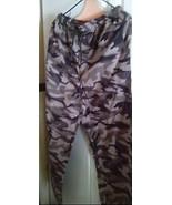 "Slacks Lounge Pants  Men's Unisex Cammo Gray Camoflage 30"" x 29""  - $10.85"