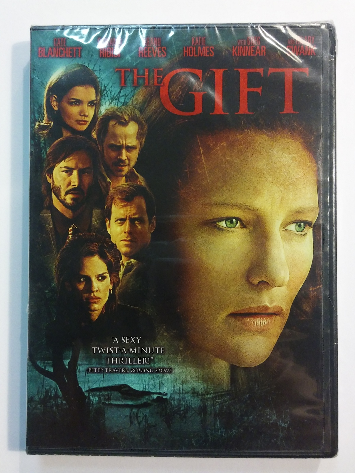 The Gift [DVD, 2000] Kate Blanchett - Katie Holmes - Keanu Reeves - Greg Kinnear