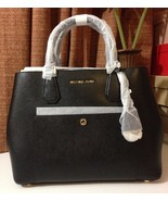 NWT MICHAEL KORS Large Saffiano Greenwich Leath... - $299.00