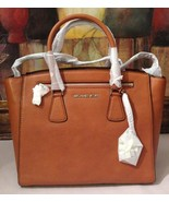 NWT Michael Kors Sophie Large Satchel Genuine Leather Cedar MSRP $398 - $278.60