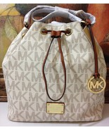 NWT Michael Kors Jules Large Drawstrings Should... - $259.00