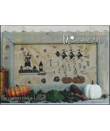 Halloween Drive Lesson cross stitch chart Madame Chantilly - $13.50
