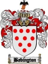 Babington Family Crest / Coat of Arms JPG or PDF Image Download - $6.99