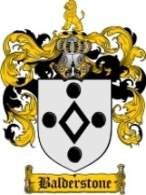 Balderstone Family Crest / Coat of Arms JPG or PDF Image Download - $6.99