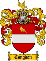 Primary image for Congdon Family Crest / Coat of Arms JPG or PDF Image Download