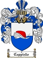 Primary image for Cappiello Family Crest / Coat of Arms JPG or PDF Image Download