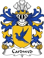 Primary image for Cardwed Family Crest / Coat of Arms JPG or PDF Image Download