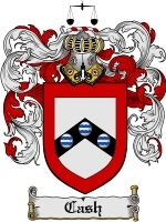 Primary image for Cash Family Crest / Coat of Arms JPG or PDF Image Download