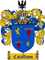 Primary image for Catalfamo Family Crest / Coat of Arms JPG or PDF Image Download