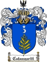 Primary image for Catanzariti Family Crest / Coat of Arms JPG or PDF Image Download
