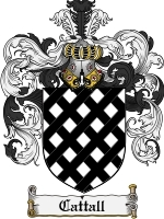 Primary image for Cattall Family Crest / Coat of Arms JPG or PDF Image Download